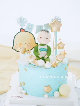 鸡宝宝 周岁蛋糕
