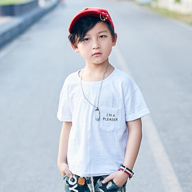 绵竹节T恤