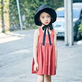 森系连衣裙