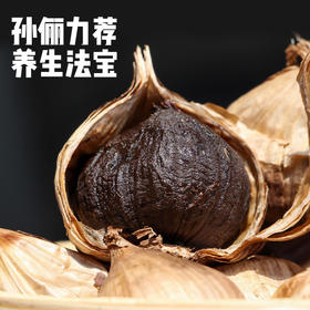 大理独头黑蒜 只添加了云南的空气 风靡各国的养生法宝 酸甜软糯大蒜 老少皆宜 105g包邮