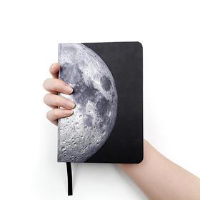 AstroReality AR月球笔记本 立体雕刻工艺丨80g/㎡无酸纸丨酷炫AR互动