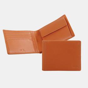 NAVA 真皮牛皮带翻盖口袋两折钱包 | 3 款(意大利)