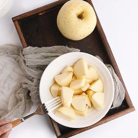 【脆甜多汁】烟台黄金奶油富士苹果 自然成熟 自然味道 4.5斤9个装包邮