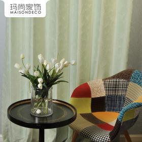 玛尚家饰成品窗帘 现代简约客厅卧室遮光帘落地帘布/莉斯