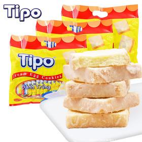 越南进口tipo面包饼干批发整箱早餐散装零食品300g