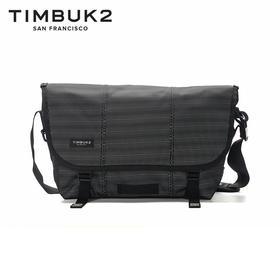 TIMBUK2美国新款经典纯色潮流邮差包手提包女单肩包男 音速黑迷之经典款
