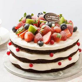 缤纷莓果蛋糕