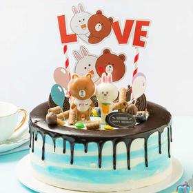 熊宝乐园  蛋糕