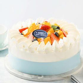 阳光心芒蛋糕