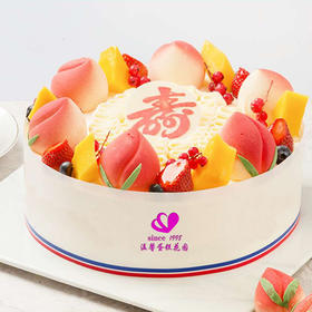 福如东海  蛋糕