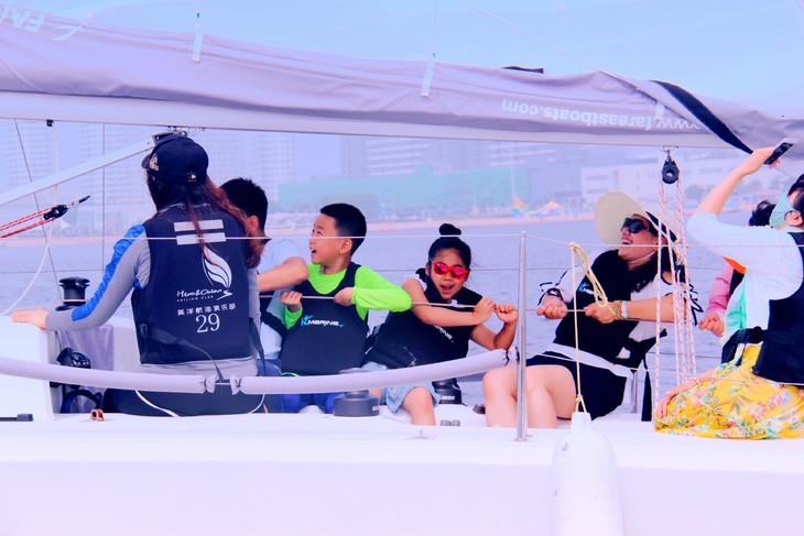 帆船营地-秦皇岛亲子帆船营