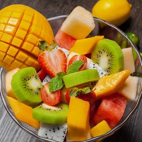 分切什锦水果