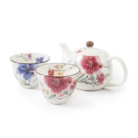 【送给心尖上的人 做有温度的茶具】日本ceramic 美浓烧陶瓷茶壶茶杯碟子套装