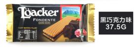 莱家黑巧克力夹心威化37.5g