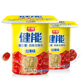 光明健能红枣酸奶125g 5杯装