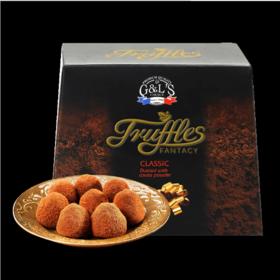 【糖果巧克力】法国进口原装 德菲丝松露巧克力250g小吃零食巧克力