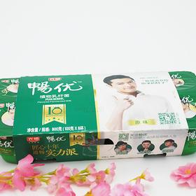 光明畅优植物乳酸菌酸奶100g 8盒装
