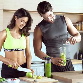 My Juicer S便携式榨汁机│简易操作,100%营养保留、健康瘦身