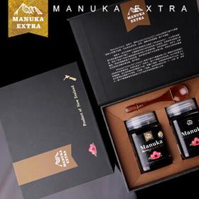 纽萃卡(Manuka Extra) 蜂蜜套装礼盒新西兰进口纯正UMF蜂蜜 2瓶UMF5+500g礼盒