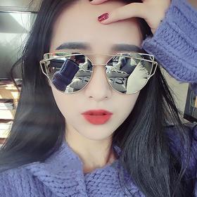 【花儿与少年 江疏影同款】韩版 新款太阳眼镜 偏光猫眼墨镜 9层过滤片 多色可选