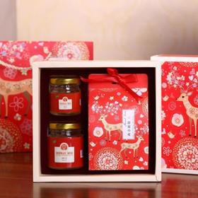 """""""一路有你""""俄罗斯蜜糖礼盒 蜂蜜100g装赠送俄罗斯糖"""