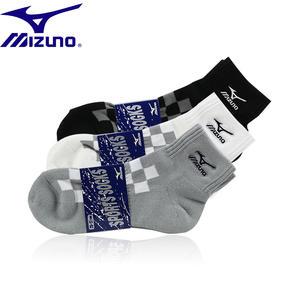 MIZUNO美津浓 男女款K2CX专业透气运动袜子(5双包邮)
