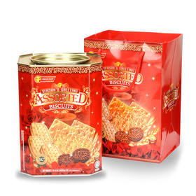 马来西亚顺发温馨家园什锦饼干600g