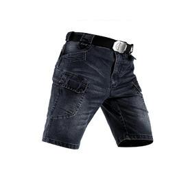 【牛仔也战术】蝰蛇 IX7战术牛仔短裤
