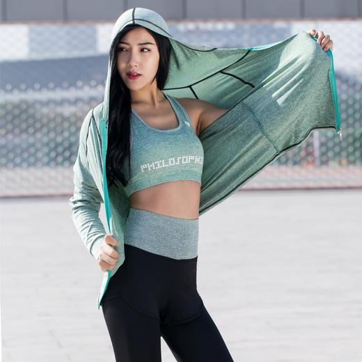 【为思礼】【冰感纤维瑜伽服5件套】新款春夏透气高弹瑜伽服 速干晨跑健身减重塑身运动套装5件套 商品图3