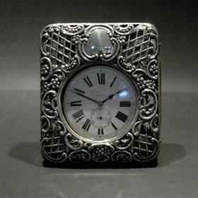 【菲集】1893年 银质怀表表壳 艺术品 工艺品 收藏品 跨境直邮