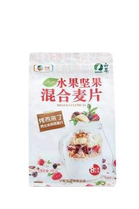 中粮山萃混合水果坚果即食麦片早餐代餐营养粥免煮牛奶冲泡681g
