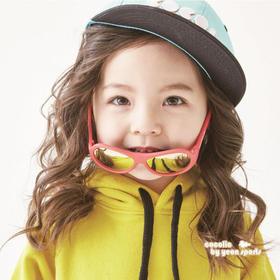【0-7岁】韩国进口 COCOLIC 儿童偏光太阳镜 FOR B 系列!圆窗型款,多色可选,优质硅胶材料,撞色时尚设计