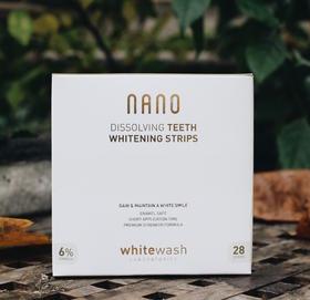 英国Whitewash NANO可溶解美白护齿牙贴