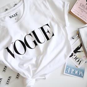 【明星同款】VOGUE LOGO T恤 2018新版
