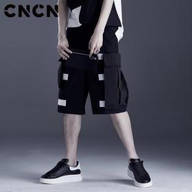 CNCN男装夏季新品工装裤 男士个性潮流短裤 CNDK29165