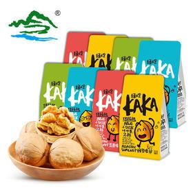 KAKA绿岭 多口味烤制薄皮核桃休闲零食108g