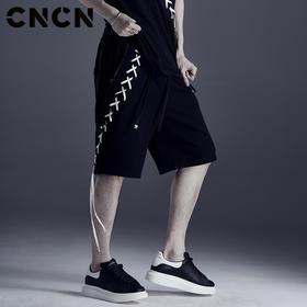 CNCN男装夏季新品个性短裤 CNDK29169