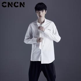 CNCN男装春夏长袖衬衫  轻薄透气休闲衬衫CNDC29162