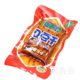 【清真】青海循化特产  安晟Q豆干  麻辣味、烧烤味、五香味混合搭配   随机搭配一斤装(23个左右)