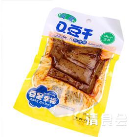 青海循化安晟Q豆干 大包装多口味豆腐干75g*8袋  清真