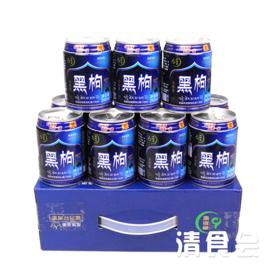 【震撼上市】青藏高原黑枸杞果汁饮料 整箱12罐