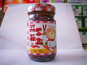 蒜蓉辣椒200g*4瓶