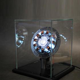 Mando钢铁侠核反应堆电弧心脏胸灯拼装手办模型礼物漫威