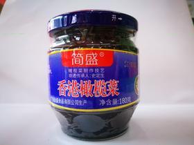 简盛橄榄菜180g*4瓶