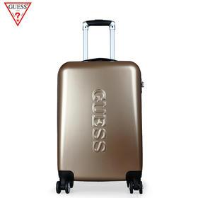 美国GUESS新款金色28寸拉杆箱