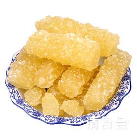 甘肃临夏精选黄冰糖  多晶体冰柱糖