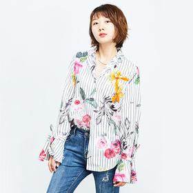 纯棉印花衬衫