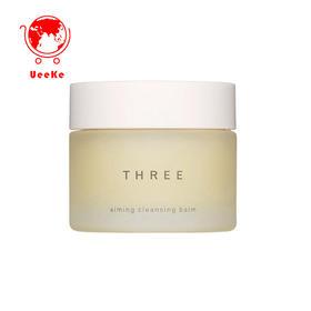 日本直邮THREE极致活颜洁颜凝膏卸妆膏85g 深层洁净 温和卸妆