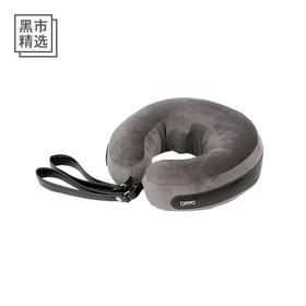 倍轻松空气按摩颈枕  可以带上飞机、火车  自动充气便携
