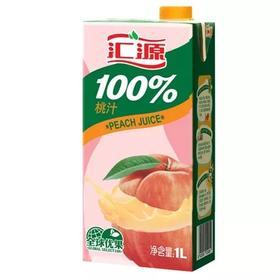 汇源 早餐果蔬汁 100%复合果蔬汁 1L装